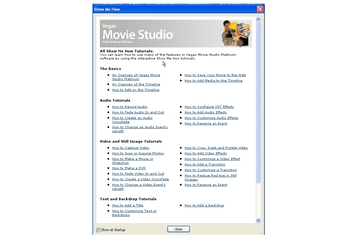 Sony Vegas Movie Studio + DVD