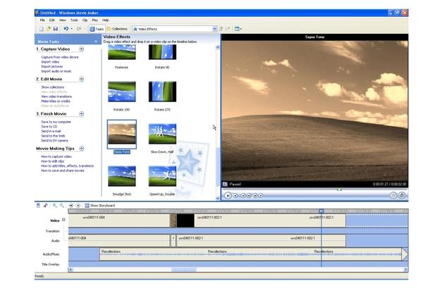 Microsoft Windows Movie Maker 2.1