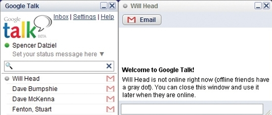 Google Talk Beta