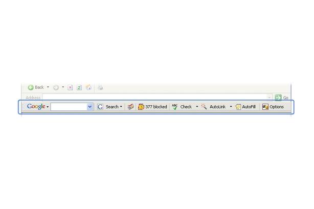Google Toolbar 4 Beta
