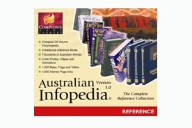 Mindscape Australian Infopedia 3.0