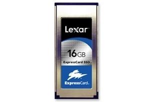 Lexar Media 16GB ExpressCard SSD