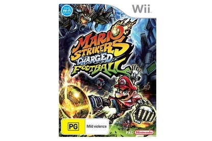 Nintendo Australia Mario Strikers Charged