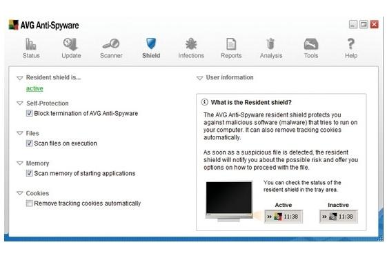 Grisoft AVG Antispyware 7.5
