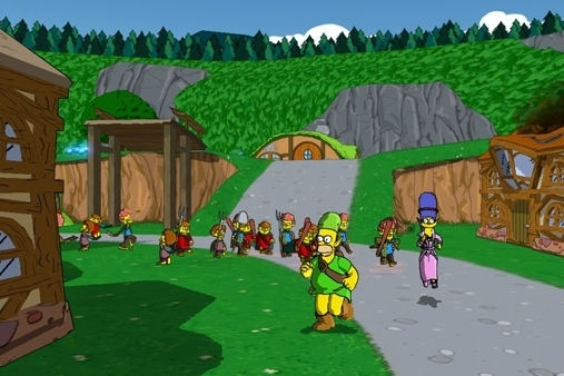 EA Games The Simpsons Game