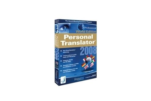 Linguatec Personal Translator 2008
