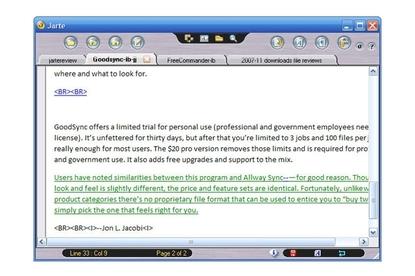 Jarte Jarte word processor Review: - PC World Australia