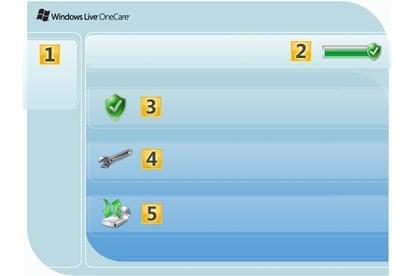 Microsoft Windows Live OneCare 2.0 suite
