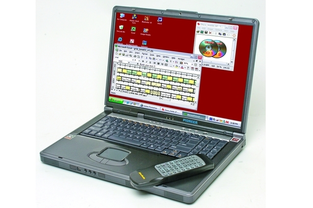Pioneer Computers Australia Power Notebook 470K