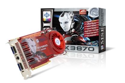 MSI  Radeon HD 3870 (RX3870-T2D512E-OC)