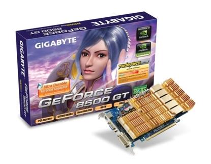 Gigabyte 8500 GT (GV-NX85T512HP)