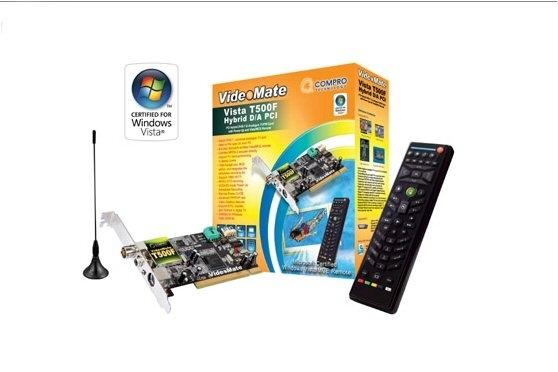 Compro Australia VideoMate Vista T500F PCI