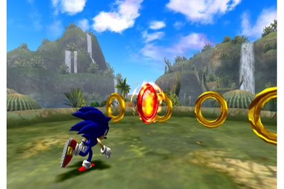 Sega Sonic and the Secret Rings