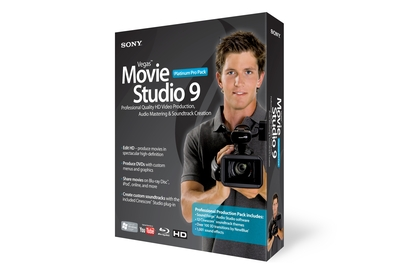 Sony Vegas Movie Studio 9 Platinum Pro