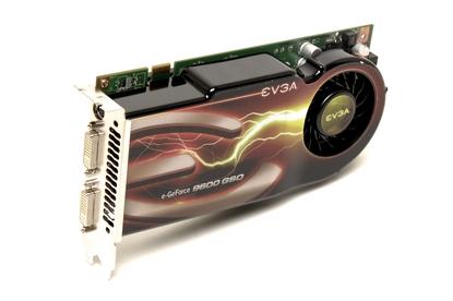 EVGA e-GeForce 9600 GSO (Dual-Slot Edition)