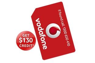 Vodafone SIM only Plan $19