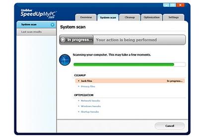Uniblue Systems SpeedUpMyPC 2009