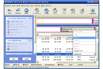 Easeus Partition Master 3.5 Professional Edition