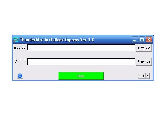 Practisoft Thunderbird to Outlook Express 1.0