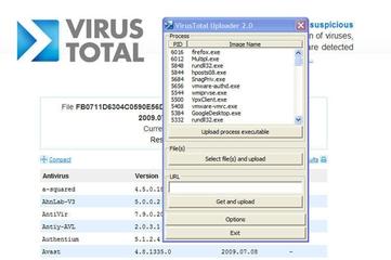 Virus Total Uploader