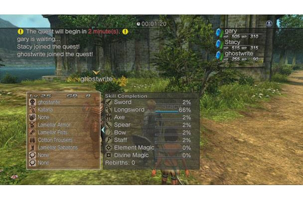 Sony White Knight Chronicles