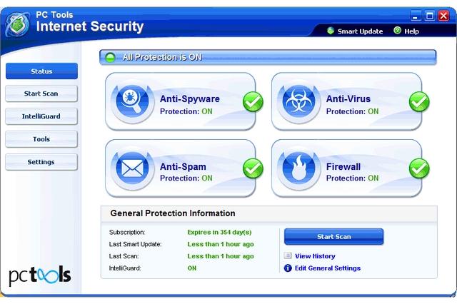 PC Tools Internet Security 2010