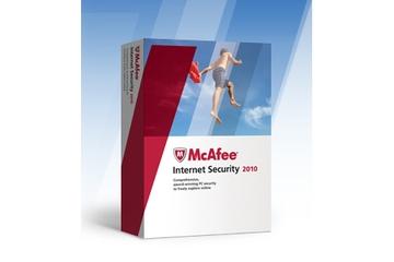 McAfee Australia Internet Security 2010