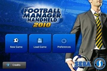 Sega Football Manager Handheld 2010 for iPhone