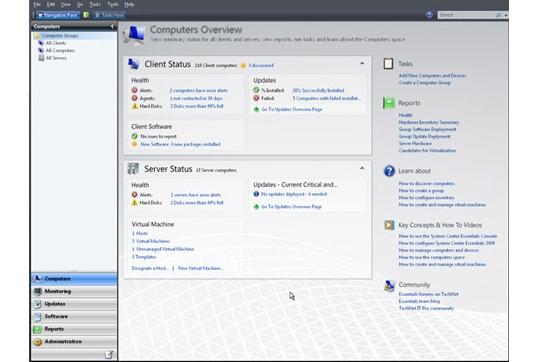 Microsoft System Center Essentials 2010