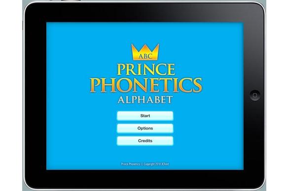 JCFord Prince Phonetics HD for iPad