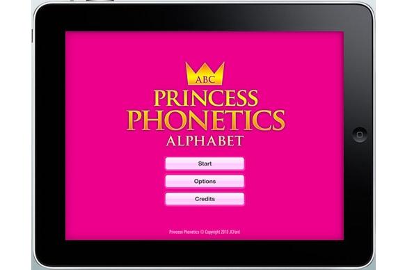 JCFord Princess Phonetics HD for iPad