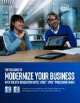 Top Reasons to Modernize Your Business with the 6th Generation Intel® Core™ vPro™ Processor Family
